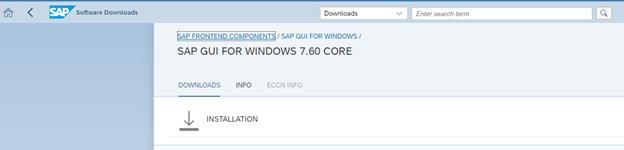 Download SAP GUI