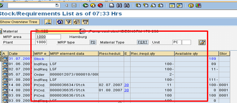Convert Planned Order to Production Order